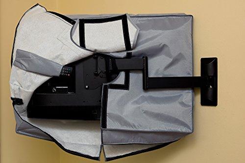 28, 29, 32  Zoll Vizomax TV Abdeckung. Fernseher Abdeckung für Außen- und Innenanwendung. Staub und wasserfest TV schutz – für HDTV, LCD, LED und Plasma TV – Displayschutz - 6