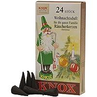 Unbekannt Sigro Knox Räucherstäbchen Weihnachten Duft Räucherkegel, braun preisvergleich bei billige-tabletten.eu