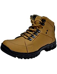 Prolific Men Synthetic X-Power Sole Boot Tan