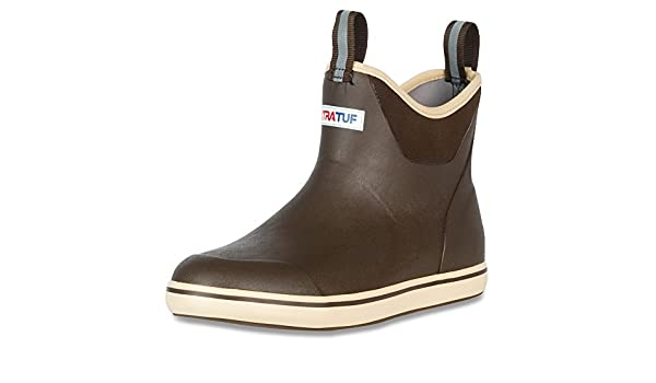 Xtratuf 22734 Men/'s 6 Inch Ankle Deck Boot Chocolate//Tan