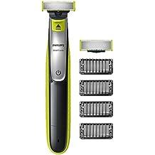 Philips OneBlade, Trimmen, Stylen, Rasieren / 4Trimmeraufsätze, 1 Ersatzklinge QP2530/30