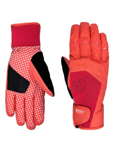 ROXY Damen Handschuhe Tyia Glove, hot Coral, XL, WTWSG044-MKZ0