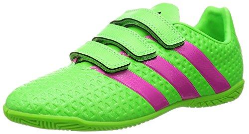 Adidas Ace Unisex Bebê 16,4 Em J H & L Chuteiras Verde / Preto Cor De Rosa (verso Rosimp Negbas)
