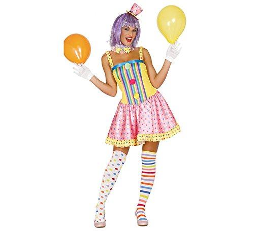 Generique - Déguisement Clown Pastel Femme Taille S