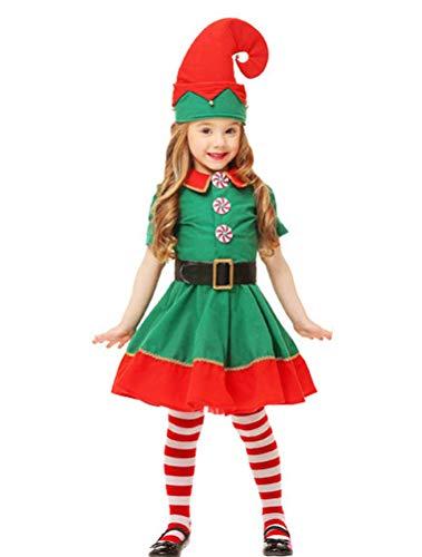 ARAUS Kinder Kostüm Weihnachten Cosplay Erwachsene Overall Halloween Karneval Kostüm Set Clown