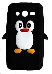 SKS Distribution® noir Mignon Pingouin Manchot Etui Coque Housse Pour Samsung Galaxy Core II
