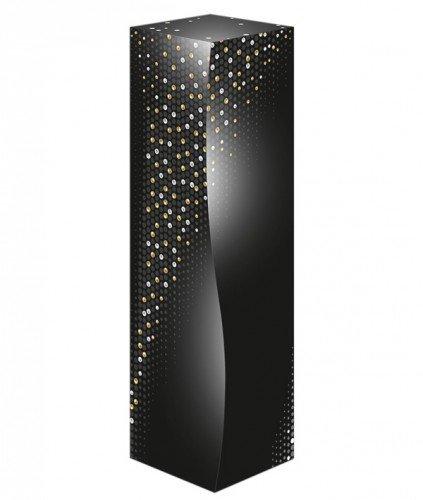 Geschenkverpackung Weinverpackung 1 Flasche Skulptur Pearls Premium Faltschachtel Maße: 325 x 89 x 89 mm VE 50 St
