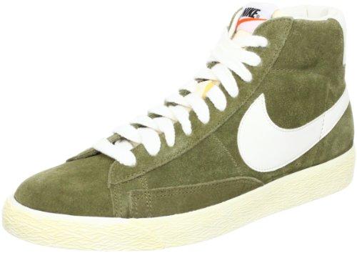 Nike Sneaker Blazer Mid Prm oliv/wei
