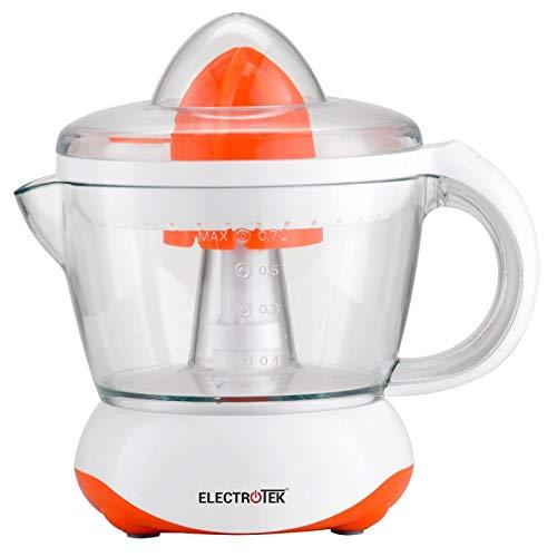 Exprimidor eléctrico 40W, jarra 0.7L. ELECTROTEK ET-EX70. NARANJA