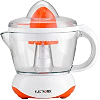 Exprimidor eléctrico 40W, jarra 0.7L. ELECTROTEK ET-EX70. (NARANJA)