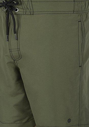 BLEND Gomes Herren Schwimmhose Swim-Shorts kurze Hose Badehose Dusty Green (70595)