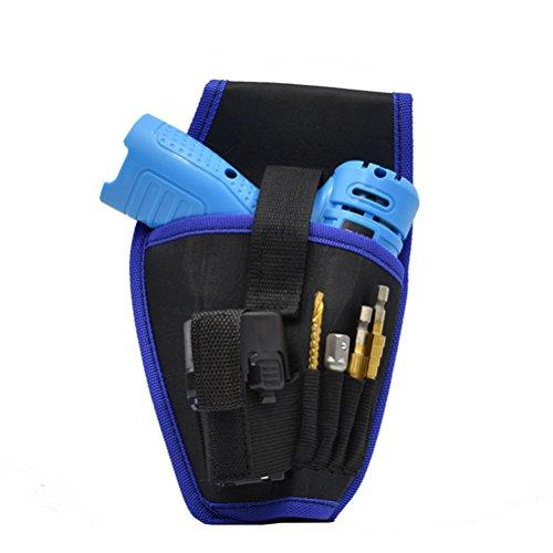 Preisvergleich Produktbild BESTOMZ Elektriker Werkzeug Tragbare für 12 V / 18 V Lithium-Akku Bohrschrauber