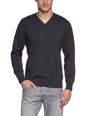 CASAMODA Herren Pullover Regular Fit 004130/74, Gr. 48 (S), Grau (74 anthrazit)