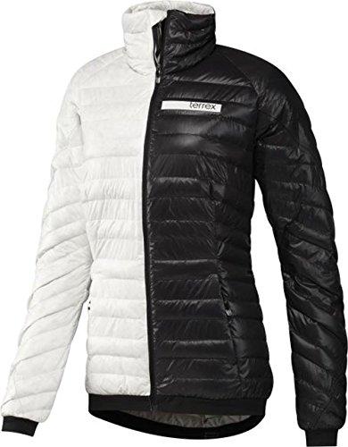Adidas Clima heat piumino-TX, Donna, TX Climaheat Daunenjacke, bianco / nero, 42