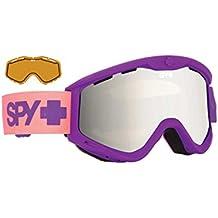 Spy–Gafas de nieve T3Purple Fade (with Bonus Lense), color bronze w/ silver mirror +, tamaño talla única