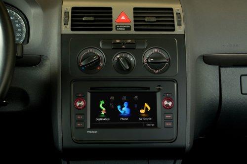Pioneer Radio-Adapterblende Doppel-Din für VW, Skoda
