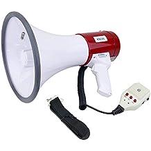 230x350mm 25W megafono con la sirena e 10s di registrazione
