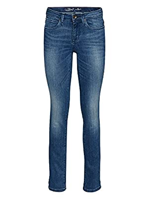 TOM TAILOR Women straight-cut jeans