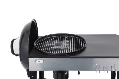 41qVeMTUpYL - Tepro Belmont Kettle Barbecue–Black