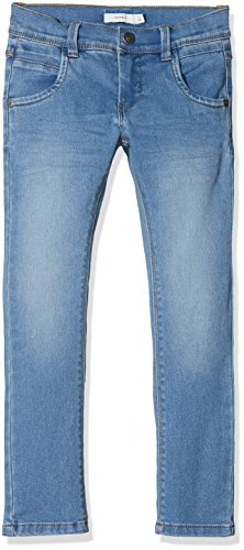 NAME IT Jungen Jeans Nkmsilas Dnmtax 1008 Pant, Blau (Light Blue Denim), 134 (Kinder-jeans Blaue)