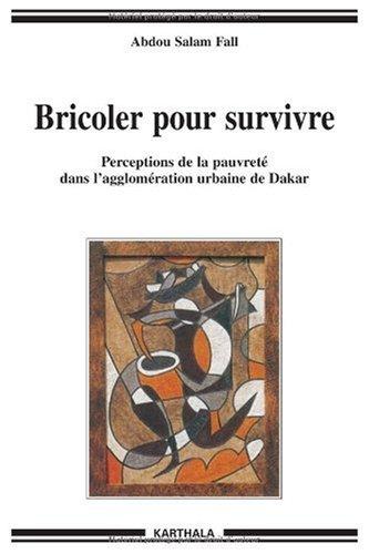 Bricoler pour Survivre-Perceptions de la Pauvreté Dans l'Agglomeration Urbaine de Dakar