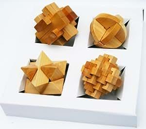 toys of wood oxford holz r tsel 3d puzzle spiel satz von 4 sterne galileis kugel kreuz und. Black Bedroom Furniture Sets. Home Design Ideas
