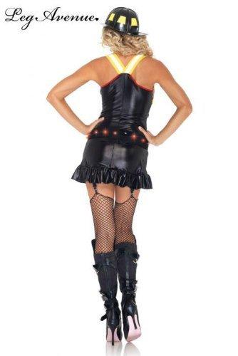 ot Spot Honey Kostüm Set, Größe S, schwarz/rot (Hot Spot Honey Kostüme)