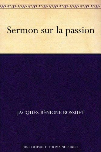 Couverture du livre Sermon sur la passion