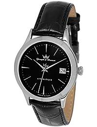 Yonger & Bresson YBH 8355-01 - Reloj para hombres color negro