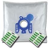 20 x Mr.Clean Staubsaugerbeutel + 20 Duftstäbe geeignet für Hoover Telios Plus TTE 2407 TTE 2005 TTE 2303