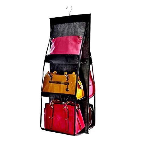 Watchwe Staubdichte, doppelseitige, sechslagige, multifunktionale Aufbewahrungstasche für Handtaschen -