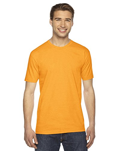 American Apparel Fine Jersey Short Sleeve T-Shirt Gold