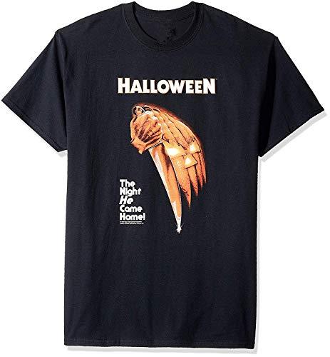 Das Halloween der modischen Männer die Nacht kam er Hauptmode-T - Shirt