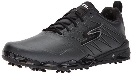 Skechers 2018 Mens GO GOLF Focus 2 Spikes Waterproof Golf Shoes 54528 Black 9.5UK