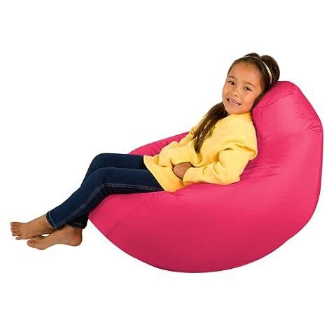 Kids Hi-BagZ - Kids Bean Bag Gaming Chair - Childrens Beanbag (Water Resistant) PINK