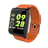 Kimruida Smart Bracelet/Wristband Watch/Heart Rate Monitor/Blood Pressure/Fitness Tracker