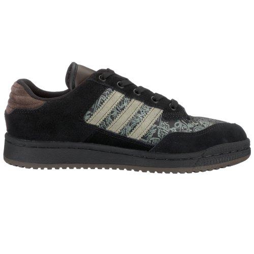 adidas ,  Unisex Kinder Casual Black/Dark Clay
