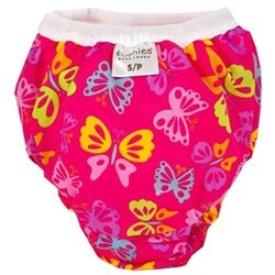 Kushies Kushies Potty Training Pants - Large - Butterfly Fuchsia