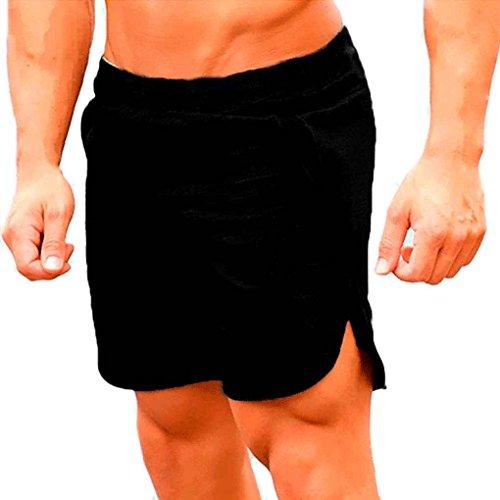 Zerama Breathable lose Sports Männer Shorts Laufen Bodybuilding Kalb Länge Fünf Kurze Hosen Fitness Fitnessstudios Hosen - Kurze Kalb