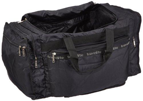 Travelite Falt-Reisetasche MiniMax L, schwarz, 60x34x33 cm, 61 Liter Schwarz