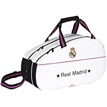 Safta - Bolsa de deporte Real Madrid, 50 x 32 x 23 cm (711457741)