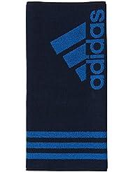 adidas Towel S - Toalla unisex, color azul, talla NS