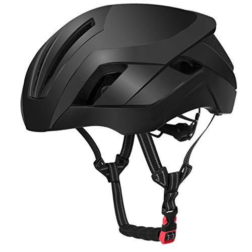 XGHW Fahrradhelm Fahrrad integrierte Helm Schutzhelm männlichen Mountain Road Bike Zubehör (Farbe : 2, größe : 57-62cm)