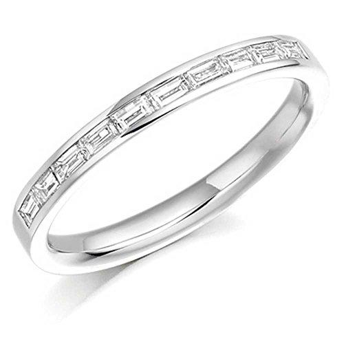 TJH Collection Damen - Platin Clear Diamant