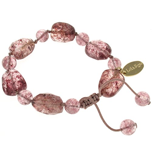 Lola Rose Armband Tasia braun Zucker Rock Kristall (Zucker Damen-rock)