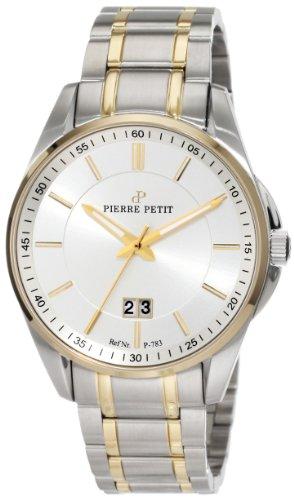 Pierre Petit - P-783D - Montre Homme - Quartz Analogique - Bracelet Acier Inoxydable Multicolore