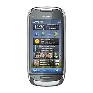 Nokia C7 Smartphone GPRS/EDGE Bluetooth GPS Métal Givré