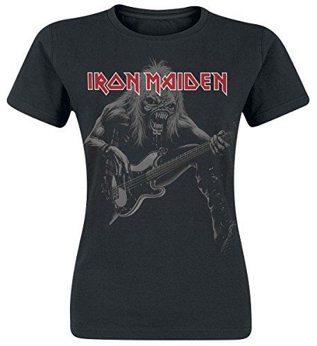 Iron Maiden Eddie Bass Maglia donna nero S