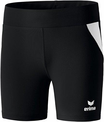 erima Damen Shorts Tight Schwarz/Weiß, 40