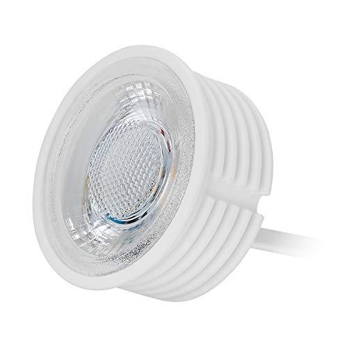 1 módulo LED GU10 MR16 de 5 W, 230 V, solo 20...